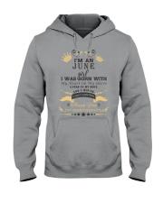 I'm An June Girl Hooded Sweatshirt thumbnail