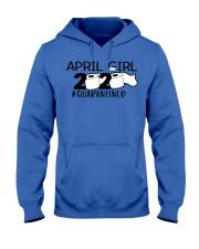 H - APRIL GIRL Hooded Sweatshirt thumbnail