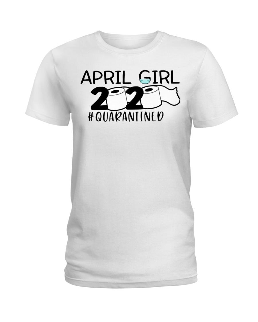 H - APRIL GIRL Ladies T-Shirt