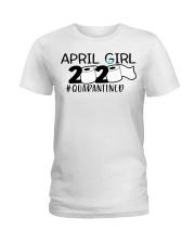 H - APRIL GIRL Ladies T-Shirt front