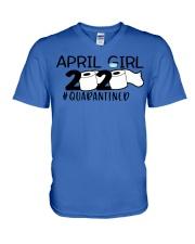 H - APRIL GIRL V-Neck T-Shirt thumbnail