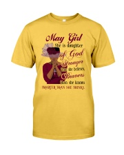 May Girl God Classic T-Shirt front