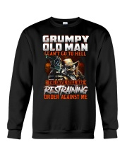 H - GRUMPY OLD MAN Crewneck Sweatshirt thumbnail