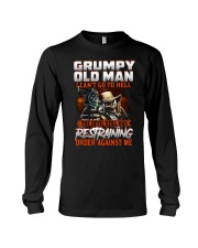 H - GRUMPY OLD MAN Long Sleeve Tee thumbnail