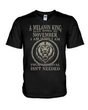 NOVEMBER KING V-Neck T-Shirt tile