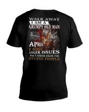 H - GRUMPY OLD MAN M4 V-Neck T-Shirt thumbnail