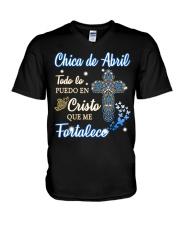 CHICA DE ABRIL V-Neck T-Shirt thumbnail