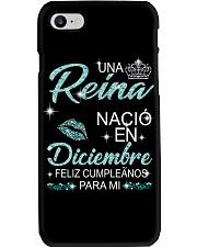 Diciembre Reina Phone Case thumbnail