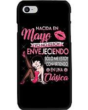 Camisetas sublimadas mujer clásica nacida Mayo Phone Case thumbnail