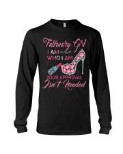 FEBRUARY GIRL Long Sleeve Tee thumbnail