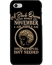 NOVEMBER QUEEN Phone Case thumbnail