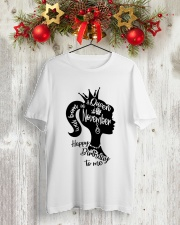NOVEMBER QUEEN Classic T-Shirt lifestyle-holiday-crewneck-front-2