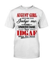 AUGUST GIRL Z Classic T-Shirt tile