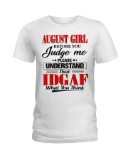 AUGUST GIRL Z Ladies T-Shirt front