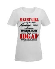 AUGUST GIRL Z Ladies T-Shirt women-premium-crewneck-shirt-front