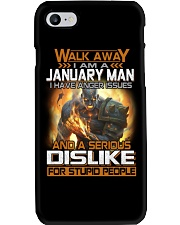 JANUARY MAN  Phone Case tile