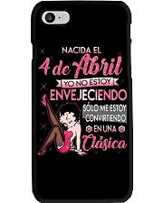 4 DE ABRIL Phone Case thumbnail