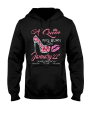 22nd january Hooded Sweatshirt tile