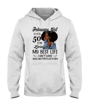 FEBRUARY GIRL Hooded Sweatshirt thumbnail