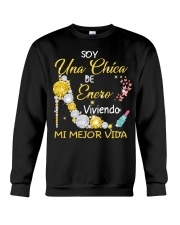 UNA CHICA ENERO Crewneck Sweatshirt thumbnail