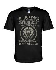 SEPTEMBER MAN 26 V-Neck T-Shirt tile