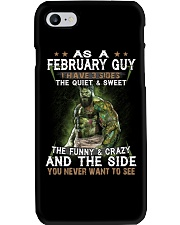 FEBRUARY GUY Phone Case thumbnail