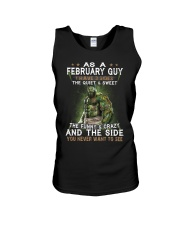 FEBRUARY GUY Unisex Tank thumbnail