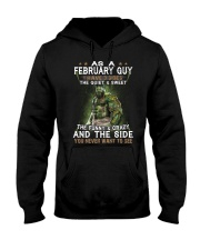 FEBRUARY GUY Hooded Sweatshirt thumbnail