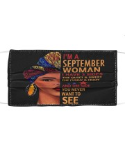 SEPTEMBER WOMAN-D Cloth face mask front