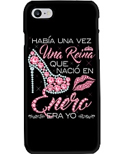 REINA DE ENERO Phone Case tile