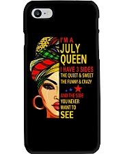 JULY QUEEN-D Phone Case tile