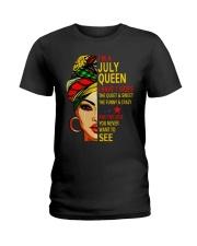 JULY QUEEN-D Ladies T-Shirt front
