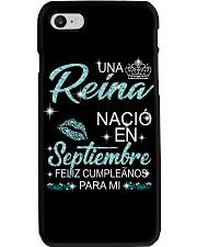 Septiembre Reina Phone Case thumbnail