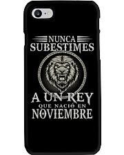 REY DE NOVIEMBRE Phone Case tile