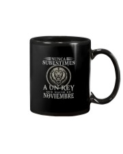 REY DE NOVIEMBRE Mug tile