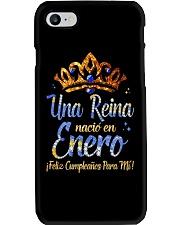 REINA DE ENERO Phone Case tile