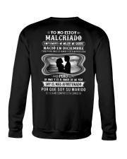 Yo no estoy Malcriado Crewneck Sweatshirt back