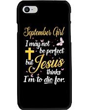 SEPTEMBER GIRL Phone Case thumbnail