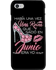 REINA DE JUNIO Phone Case thumbnail