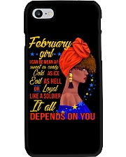 FEB GIRL Phone Case tile