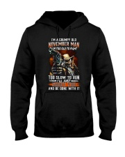 November Man Hooded Sweatshirt tile