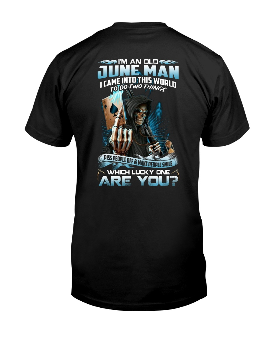 I'm An Old June Man Classic T-Shirt