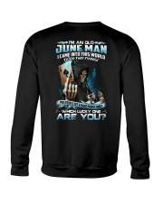 I'm An Old June Man Crewneck Sweatshirt thumbnail