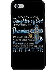 DECEMBER WOMAN L Phone Case tile