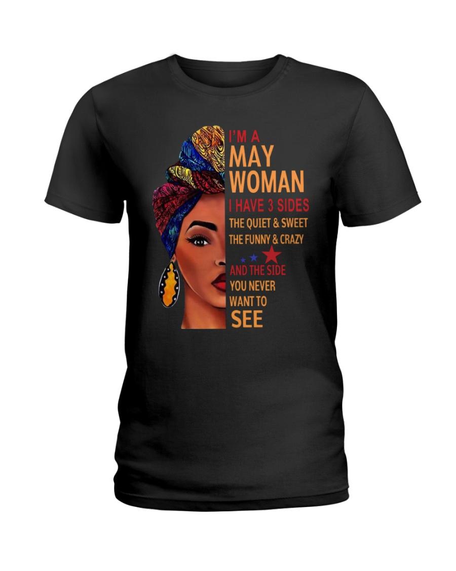 H- MAY WOMAN Ladies T-Shirt