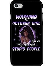 H - OCTOBER GIRL Phone Case thumbnail