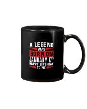 17th January legend Mug thumbnail