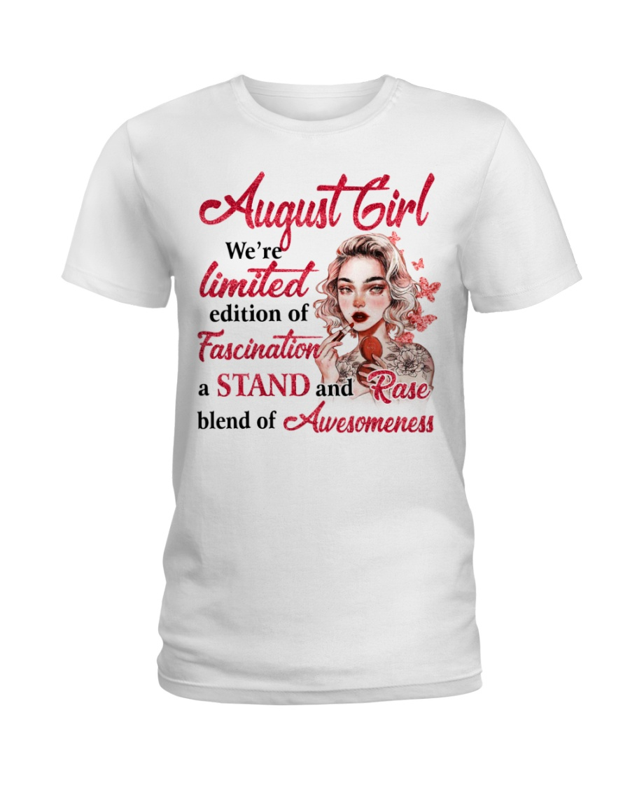 AUGUST GIRL Ladies T-Shirt