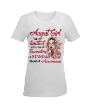 AUGUST GIRL Ladies T-Shirt women-premium-crewneck-shirt-front