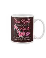 H - UNA REINA AGOSTO Mug tile